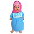 7L Anisa Hijab Perfumed Doll Blue