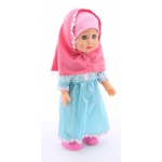 7L ANISA-Hijab Walking Doll
